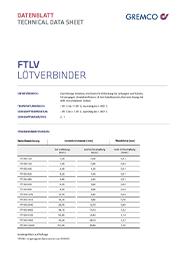 GREMCO FTLV Datenblatt