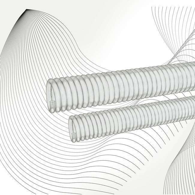 FEP-Schläuche und UV-Spiralen im Anwendungskontext